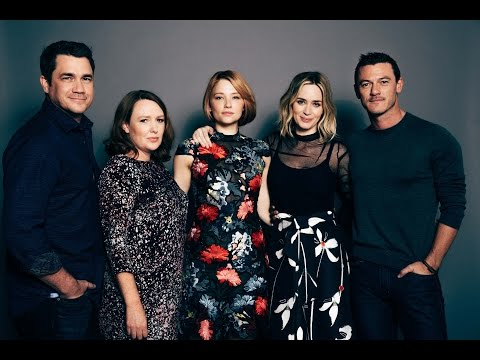 "Emily Blunt, Haley Bennett, Luke Evans, Tate Taylor And Paula Hawkins On ""The Girl On The Train"""