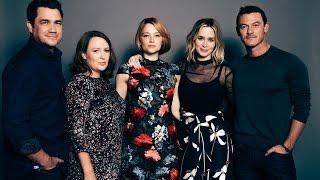 "Emily Blunt, Haley Bennett, Luke Evans, Tate Taylor And Paula Hawkins On ""The Girl On The Train"""