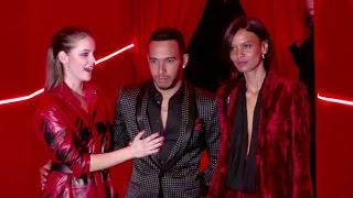 Barbara Palvin, Lewis Hamilton And More At The L'Oreal Red Obsession Party In Paris