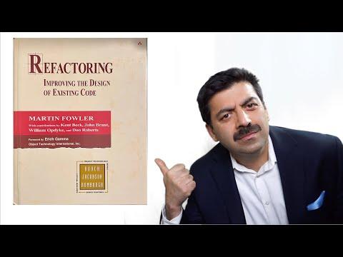 refactoring-book(martin-fowler)-review