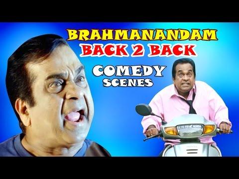 Brahmanandam Back 2 Back Comedy Scenes - Volga Video