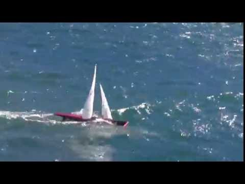 Ten Rater World Championship Training in gusty wind