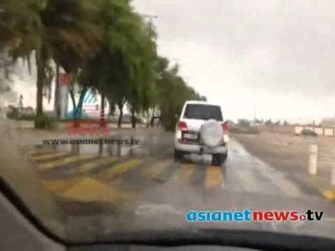 Heavy rains lash Abu Dhabi :Gulf Round Up 25th Nov 2013 Part 1