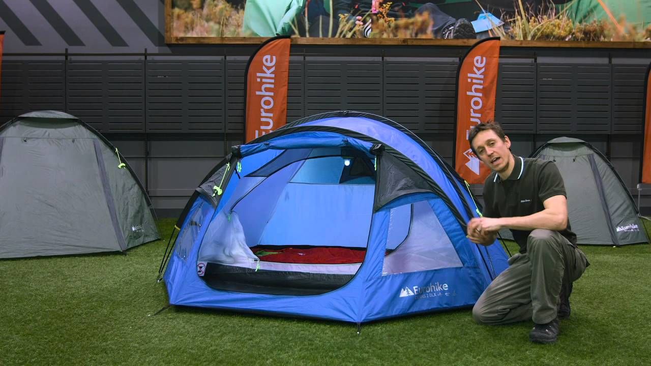 The Eurohike Cairns DLX 2 Man Tent  sc 1 st  YouTube & The Eurohike Cairns DLX 2 Man Tent - YouTube