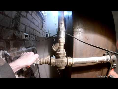 Обвязка твердотопливного котла.  Важное по установке трехходового клапана