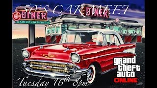 GTA 5 1950's Car Meet Like and subscribe to join