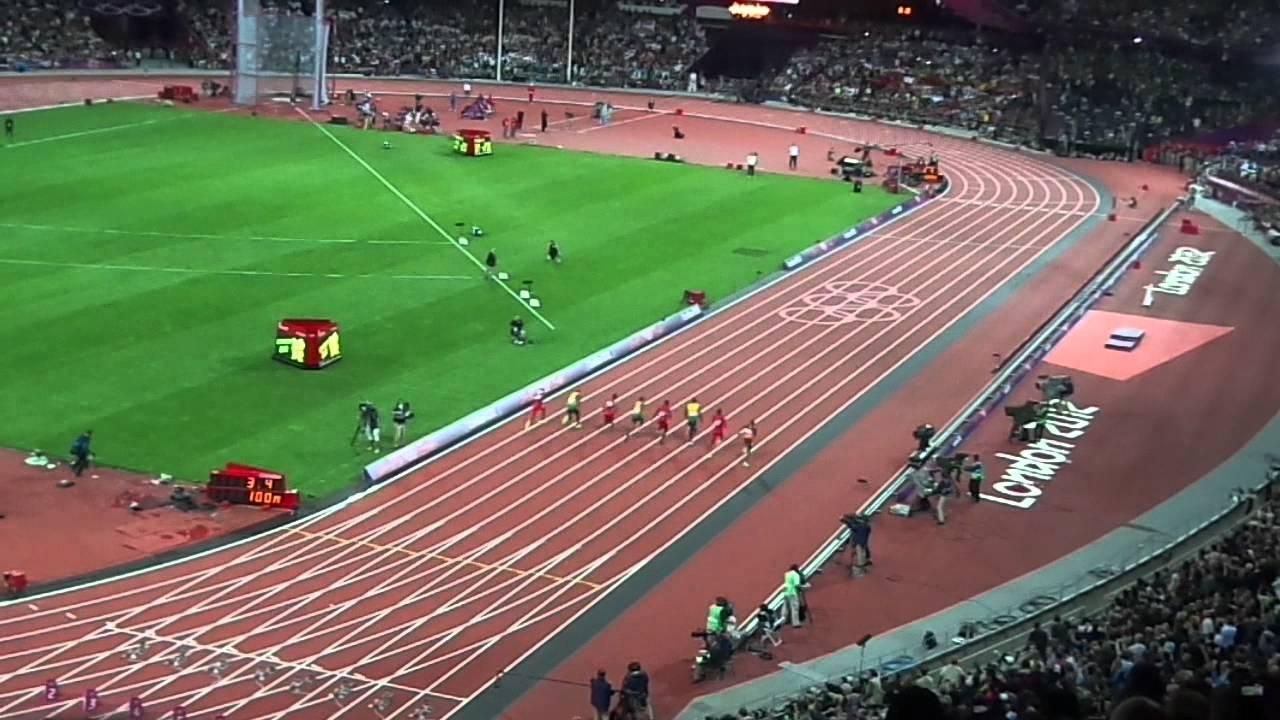 100m Finale London