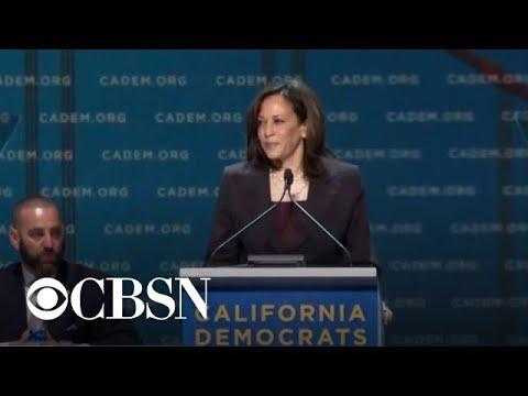 2020 Democratic hopefuls speak at California state convention