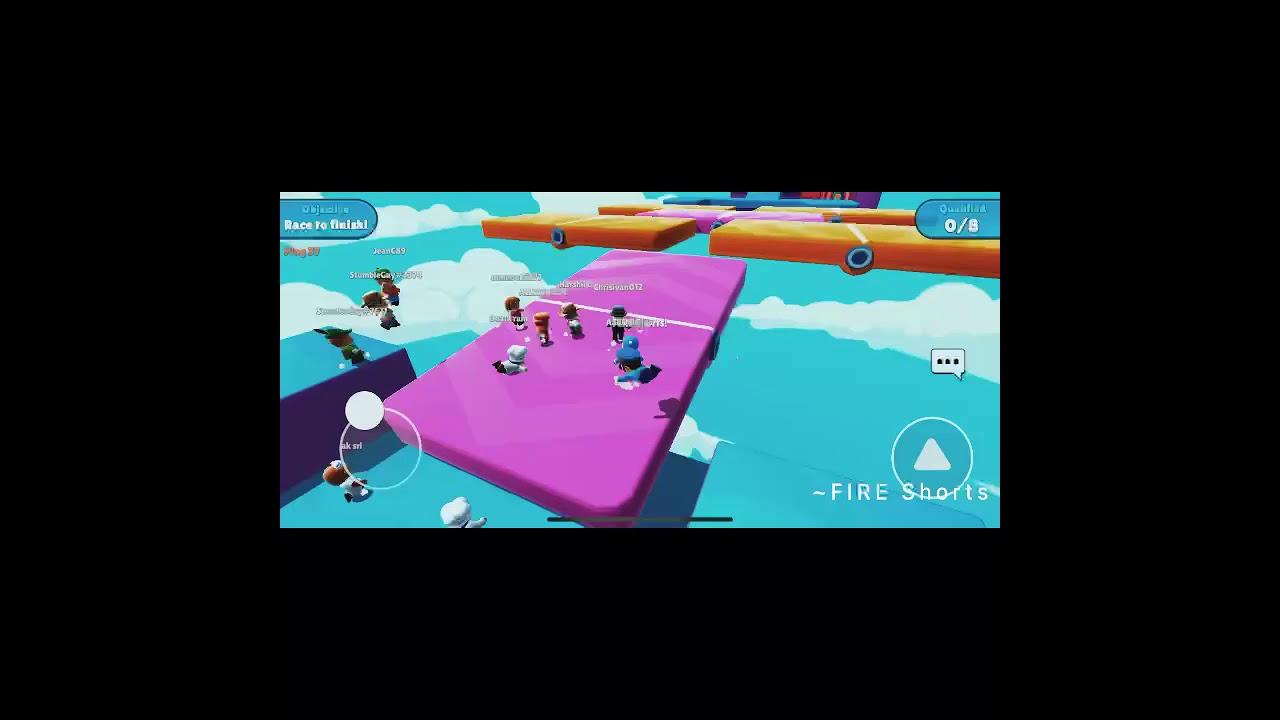 Playing in FLOOR FLIP Map in Stumble Guys  #2 Video,/#FIREshorts/#StumbleGuys/#shorts