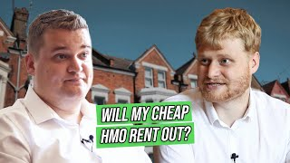Will My CHEAP HMO Rent Out? | Samuel & Russell Leeds