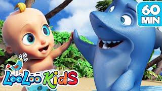 Baby Shark   Best Dance Song For Kids | Looloo Kids