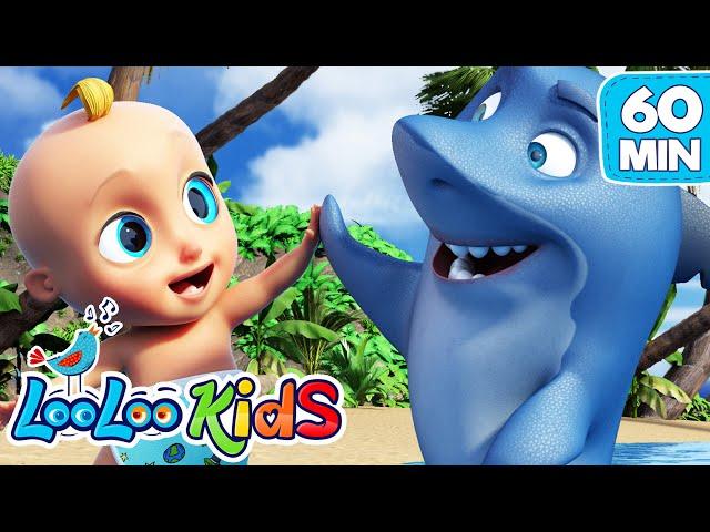 Baby Shark - Educational Songs for Children | LooLoo Kids