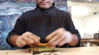 How to make sushi it's call Spider roll