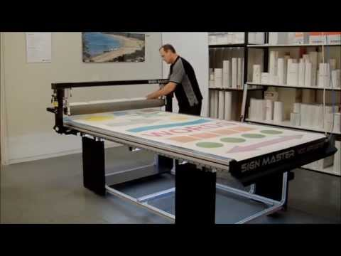 Sign Master Applicator Extended Demo from Lamination System