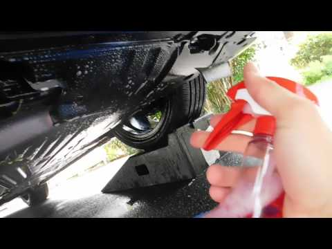 HONDA ACCORD UNDERCARRIAGE CLEANING