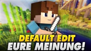 DEFAULT TEXTURE PACK? - EURE MEINUNG! - Minecraft | LetsPhil