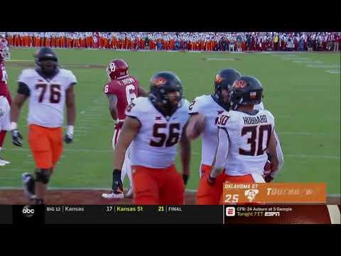 Oklahoma vs. Oklahoma State Football Highlights
