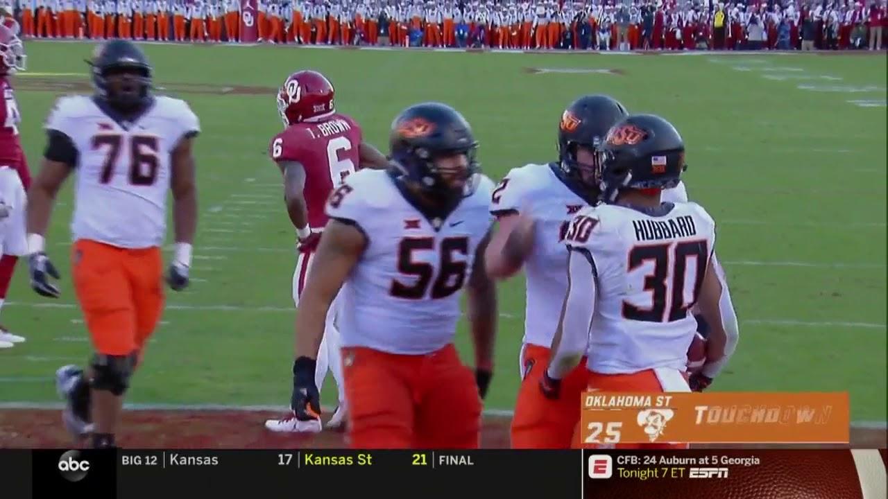 Oklahoma vs. Oklahoma State Football Highlights - YouTube