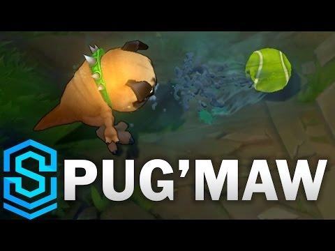 Pug'Maw (Pug Kog'Maw) Skin Spotlight - League of Legends