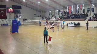 GALATASARAY - BAHÇELİEVLER Midi Kızlar Voleybol Maçı 1.SET (10.02.2019)