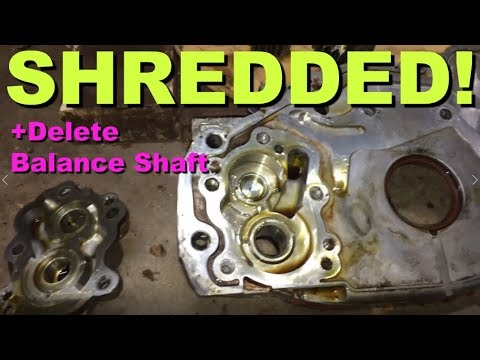 Repeat LD9 Engine Rebuild Part 10 - Installing Balance Shaft