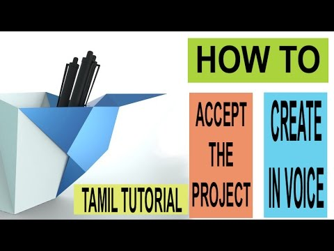 HOW TO : Accept project - complete it - create invoice in freelancer.com : TAMIL TUTORIAL