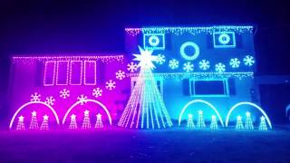 Carol of the Bells Christmas Lights Remix
