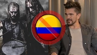 Juanes PROTESTA por cancelación de Marduk en COLOMBIA