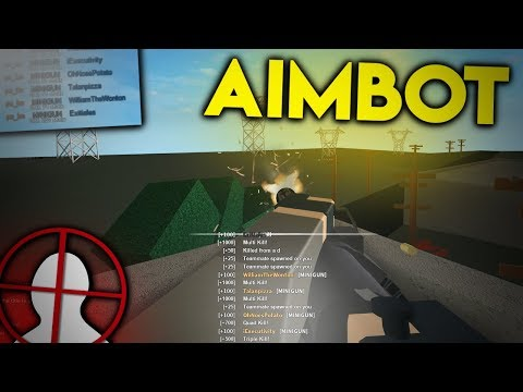 AIMBOT IN ROBLOX PHANTOM FORCES..... (Modded)
