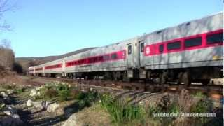 [HD] Amtrak and Metro-North- Manitou, NY [Lake Shore Limited w/ Viewliner Diner]