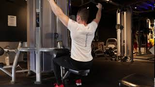 Wide Grip Lat Pull Down Cable