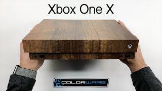 Xbox One X Skin Installation