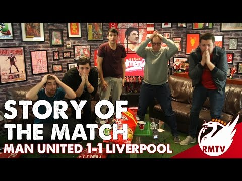 Manchester United v Liverpool 1-1 | Story of the Match