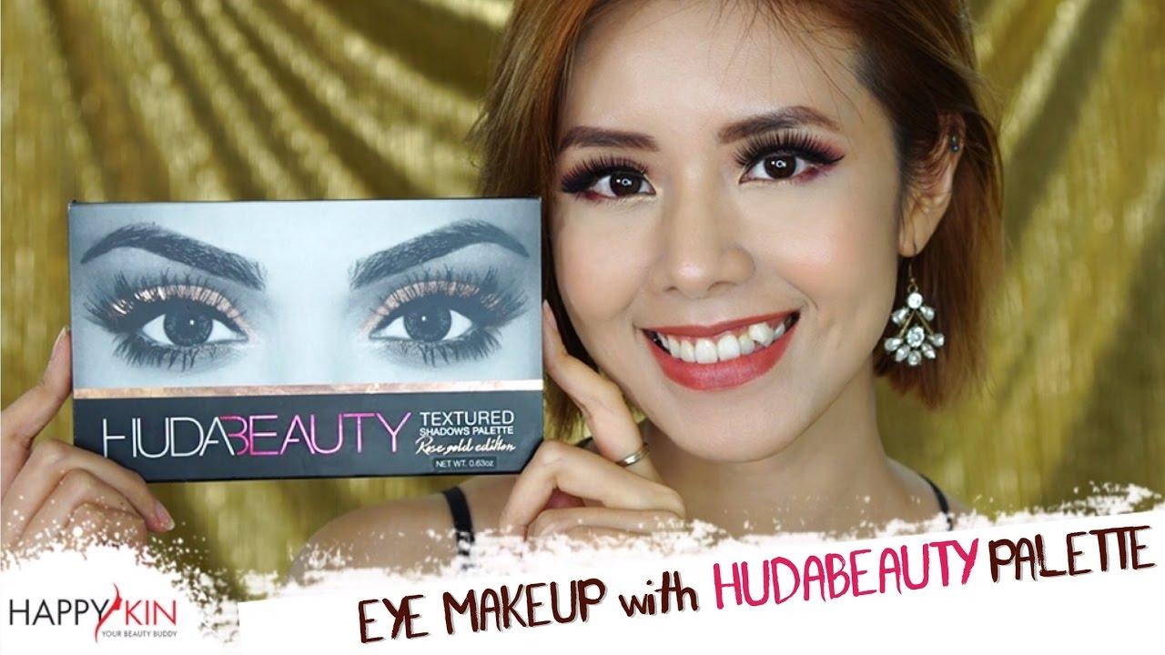 Hướng Dẫn Makeup Mắt Ấn Tượng  Với Huda Beauty Rose Gold ft. Gau Zoan