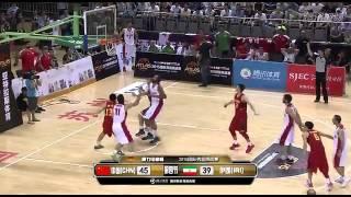 2015男篮亚特拉斯杯决赛:中国国奥队vs伊朗国家队 第四节