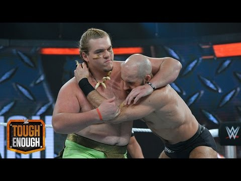 ZZ looks to silence his critics against Cesaro: WWE Tough Enough: August 25, 2015