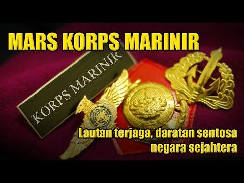 MARS KORPS MARINIR - Lagu Marinir #1