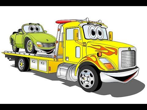 dibujos camiones para niños, dibujos infantiles animados,