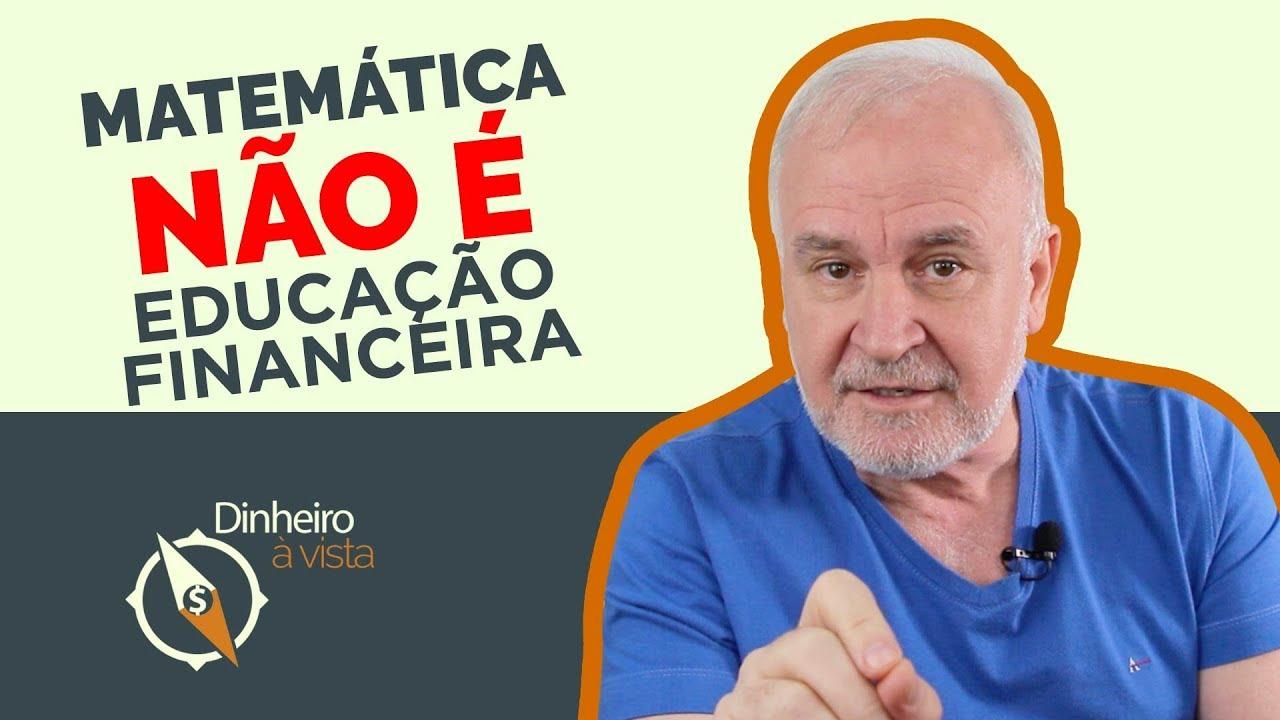 EDUCAÇÃO FINANCEIRA NÃO DEPENDE DE ESCOLARIDADE!