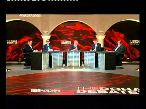 "Doha Debates 04 12 2011 : ""Assad must go"" according to Doha Debates audience"