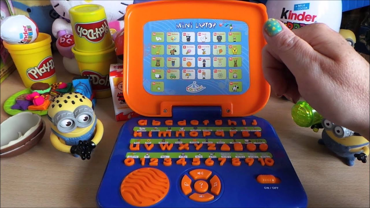 Carosel Kindergarten Learning English Phonics Children s Laptop