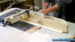 Cutting A 26 Inch Box Joint