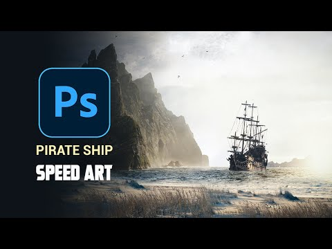 PIRATE SHIP - Speed Art Photoshop Manipulation