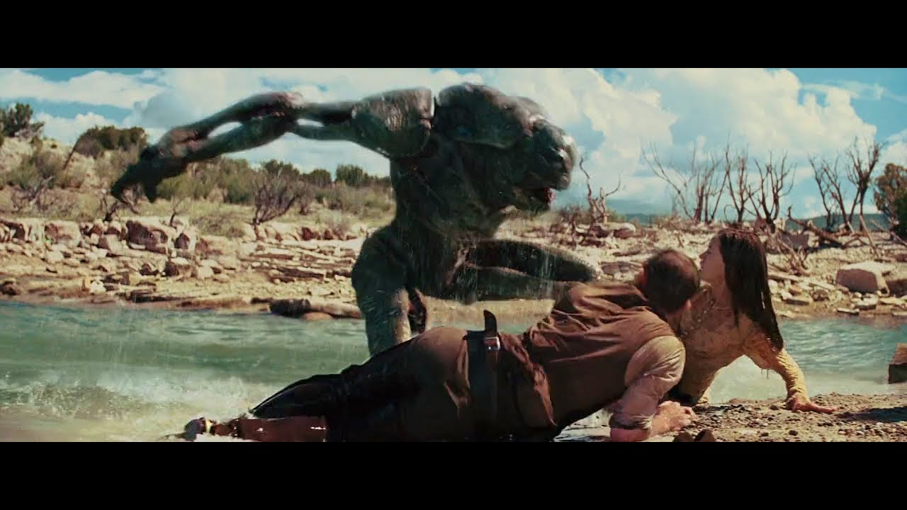Most Creative Movie Scenes From Cowboys Aliens 2011 Youtube