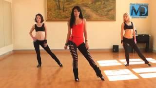 Стрип-пластика. Видео урок №2 от Dance Studio G'sB (Оля Swan)