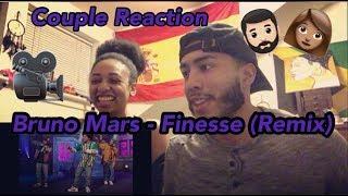 Couple Reaction: Bruno Mars - Finesse (Remix) [Feat. Cardi B]   REACTION