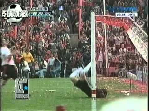 Independiente 1 vs River Plate 2 Apertura 2002 Lucho Gonzalez, D´alessandro FUTBOL RETRO TV