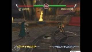Mortal Kombat: Deadly Alliance Xbox Gameplay_2002_08_06_4