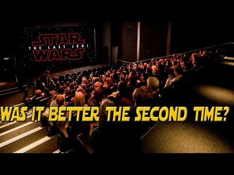 I saw The Last Jedi a second time