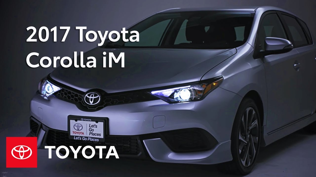 2017 Toyota Corolla Im 2017 Toyota Corolla Im Walkaround Features Toyota